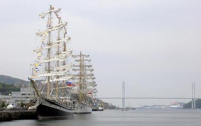 パラダとナジェジュダの一般公開/長崎帆船まつり