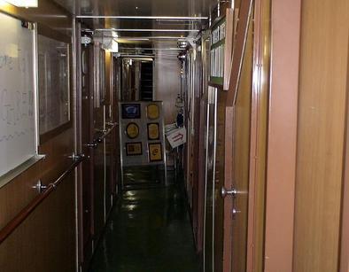 あこがれの船内/長崎帆船まつり