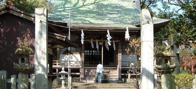 松の森神社本殿